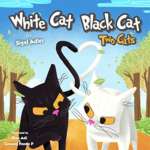 FREE: WHITE CAT BLACK CAT