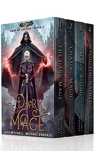 Hand of Justice Boxed Set (Books 1 – 4)